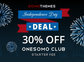 SomoThemes Independence Day Deal!